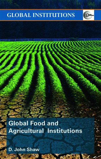 Global Food and Agricultural Institutions book cover