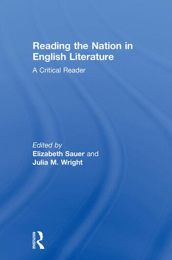 reading the nation in english literature a critical reader
