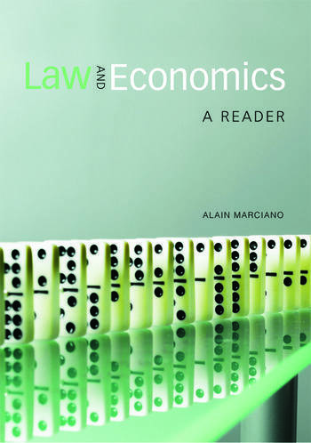 Law and Economics A Reader book cover