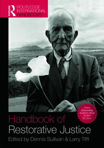 Handbook of Restorative Justice A Global Perspective book cover