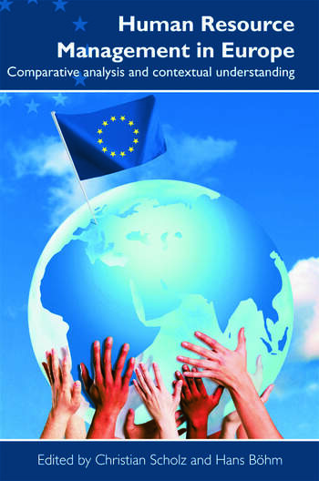 Human Resource Management in Europe book cover