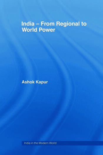 India - From Regional to World Power book cover