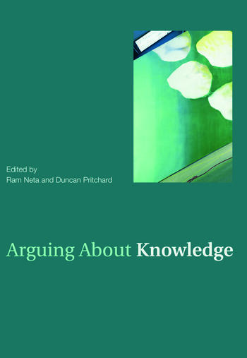 Arguing About Knowledge book cover