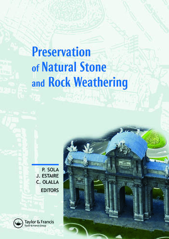 Preservation of Natural Stone and Rock Weathering Proceedings of the ISRM Workshop W3, Madrid, Spain, 14 July 2007 book cover