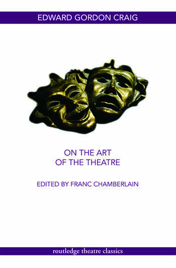 On the Art of the Theatre book cover