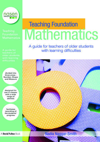 Teaching Foundation Mathematics A Guide for Teachers of Older Students with Learning Difficulties book cover