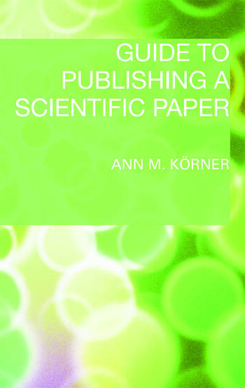 Guide to Publishing a Scientific Paper book cover