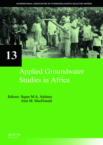 Applied Groundwater Studies in Africa IAH Selected Papers on Hydrogeology, volume 13 book cover