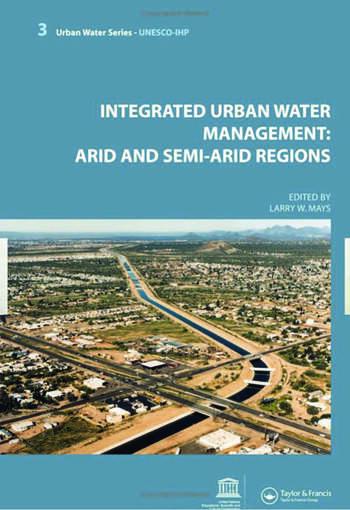 Integrated Urban Water Management: Arid and Semi-Arid Regions UNESCO-IHP book cover