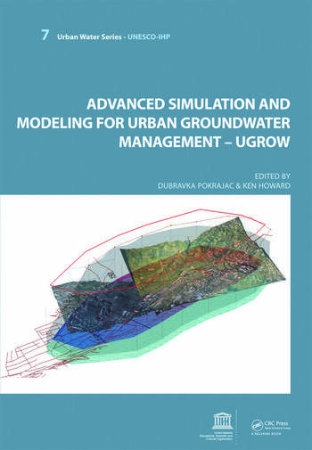 Advanced Simulation and Modeling for Urban Groundwater Management - UGROW UNESCO-IHP book cover