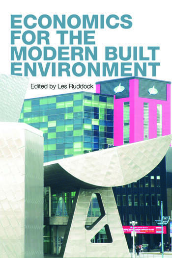 Economics for the Modern Built Environment book cover