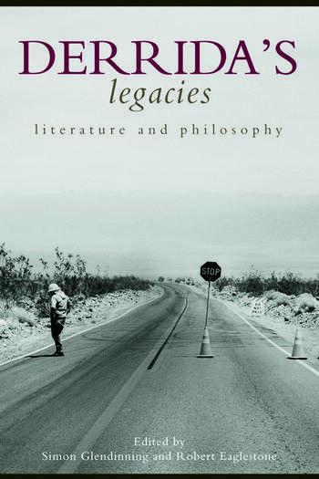 Derrida's Legacies Literature and Philosophy book cover