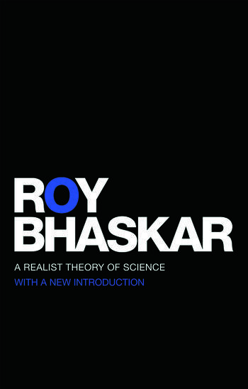 A Realist Theory of Science book cover