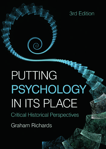 Putting Psychology in its Place Critical Historical Perspectives book cover