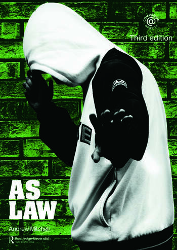 AS Law book cover