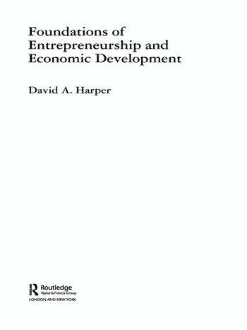 Foundations of Entrepreneurship and Economic Development book cover