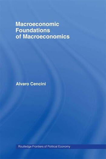 Macroeconomic Foundations of Macroeconomics book cover