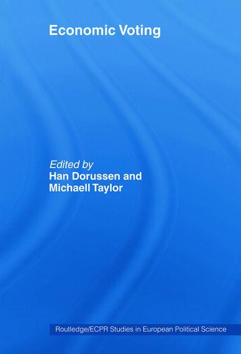 Economic Voting book cover