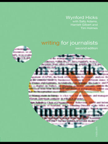 Writing for Journalists book cover