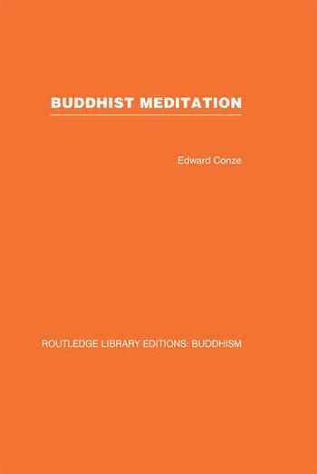 Buddhist Meditation book cover