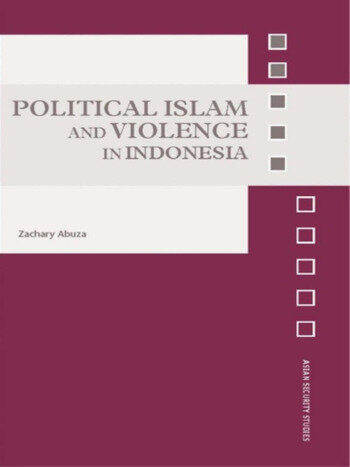 Political Islam and Violence in Indonesia book cover