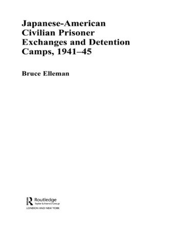 Japanese-American Civilian Prisoner Exchanges and Detention Camps, 1941-45 book cover