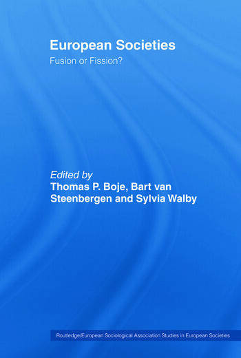 European Societies Fusion or Fission? book cover