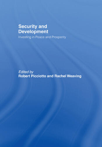 Security and Development Investing in Peace and Prosperity book cover