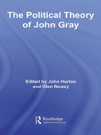 The Political Theory of John Gray book cover