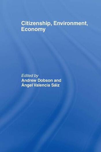 Citizenship, Environment, Economy book cover