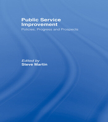 Public Service Improvement Policies, progress and prospects book cover