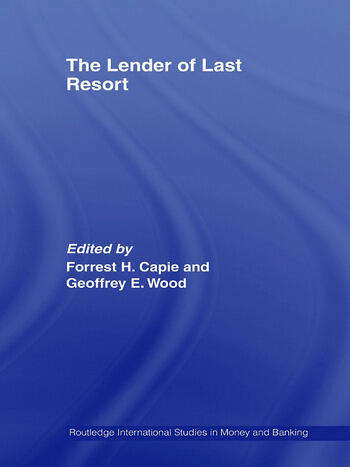 The Lender of Last Resort book cover