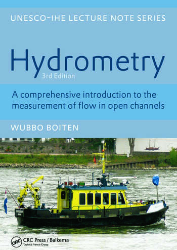 Hydrometry IHE Delft Lecture Note Series book cover