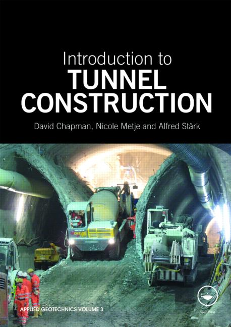 Introduction to Tunnel Construction book cover