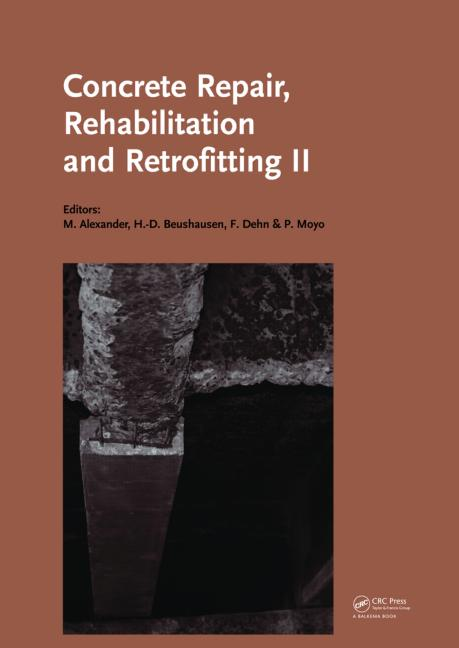 Concrete Repair, Rehabilitation and Retrofitting II 2nd International Conference on Concrete Repair, Rehabilitation and Retrofitting, ICCRRR-2, 24-26 November 2008, Cape Town, South Africa book cover