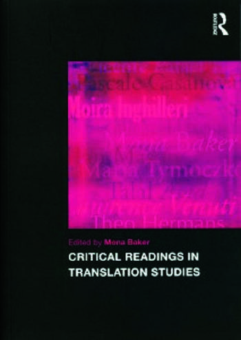 Critical Readings in Translation Studies book cover