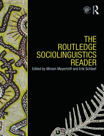 The Routledge Sociolinguistics Reader book cover