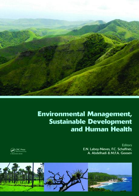 Environmental Management, Sustainable Development and Human Health book cover