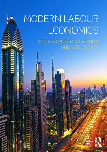 Modern Labour Economics book cover