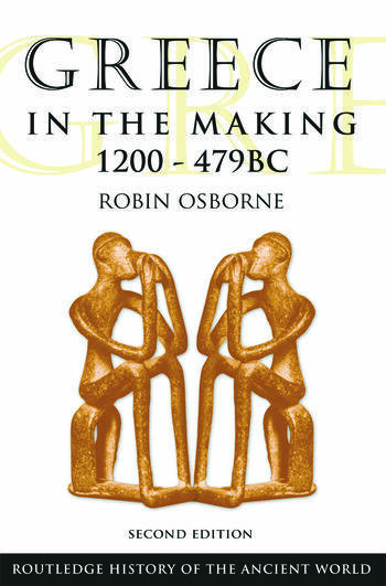 Greece in the Making 1200-479 BC book cover