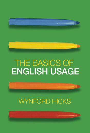 The Basics of English Usage book cover