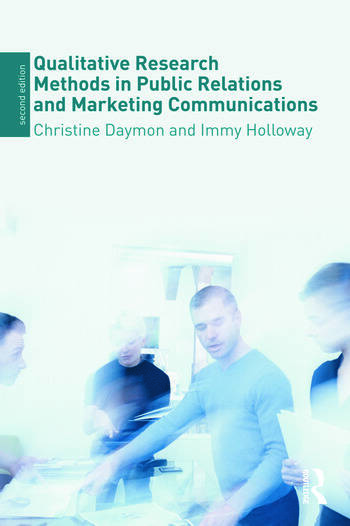 Qualitative Research Methods in Public Relations and Marketing Communications book cover
