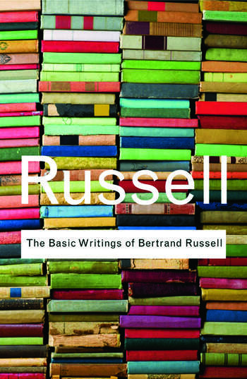 The Basic Writings of Bertrand Russell book cover