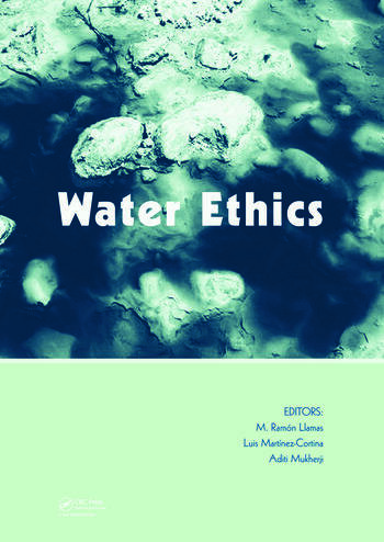 Water Ethics Marcelino Botin Water Forum 2007 book cover