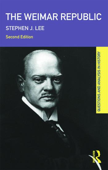 The Weimar Republic book cover