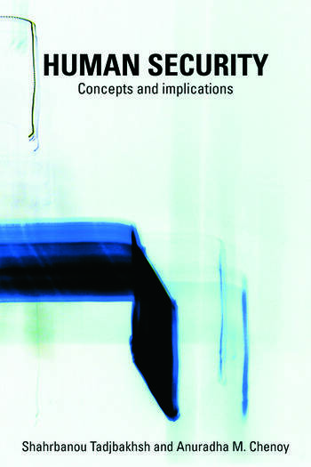 Human Security Concepts and implications book cover