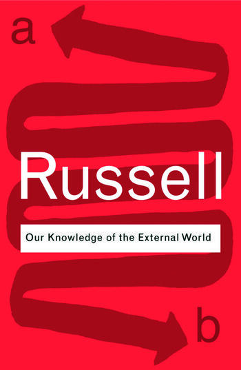 Our Knowledge of the External World book cover