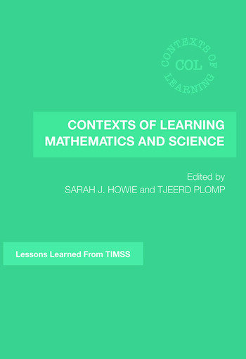 Contexts of Learning Mathematics and Science Lessons Learned from TIMSS book cover
