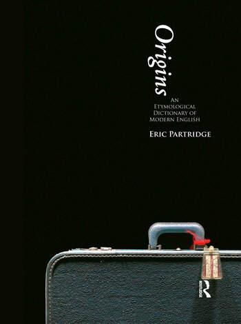 Origins A Short Etymological Dictionary of Modern English book cover
