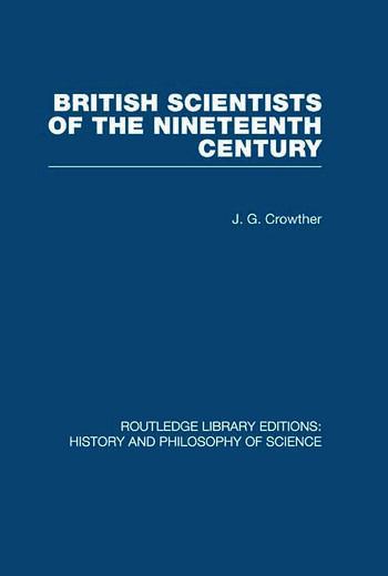 British Scientists of the Nineteenth Century book cover